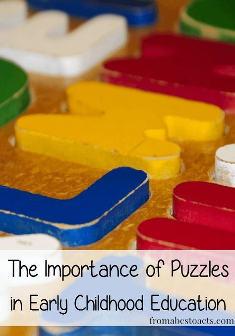 Puzzles are a perfect example of learning through play. Your child may see a fun toy, they are actually working on skills like hand-eye coordination while developing problem solving skills, critical thinking skills, and many more. You would be amazed at what they can learn from a seemingly simple puzzle.