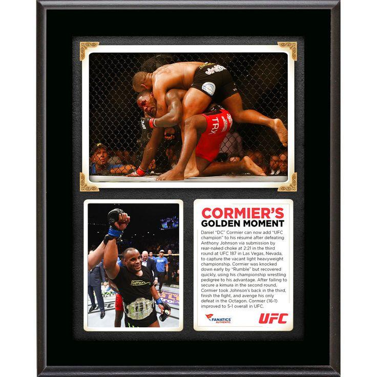 Daniel Cormier Ultimate Fighting Championship Fanatics Authentic 10.5'' x 13'' UFC 187 New Light Heavyweight Champion Sublimated Plaque - $23.99
