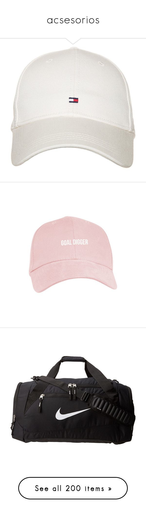 """""""acsesorios"""" by mrtsperes ❤ liked on Polyvore featuring accessories, hats, caps, white, tommy hilfiger cap, tommy hilfiger hat, cap hats, tommy hilfiger, white hat and fillers"""