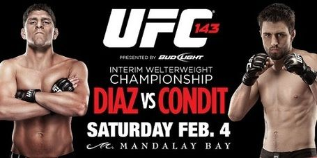 Watch UFC 143 live stream, Nick Diaz vs Carlos Condit streaming this weekend!