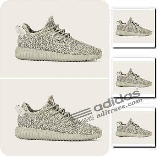 Adidas Yeezy Boost 350 Moonrock Prix Chaussure Enfant Grise/Brun :aditrace