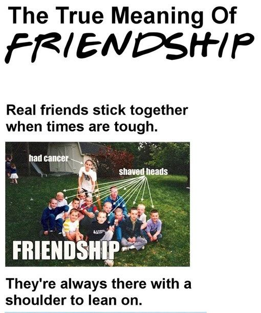 The True Meaning of FriendshipTrue Friendship