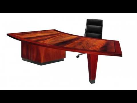 Contemporary Home Office Desks With Modern Home Office Furniture In Mode...