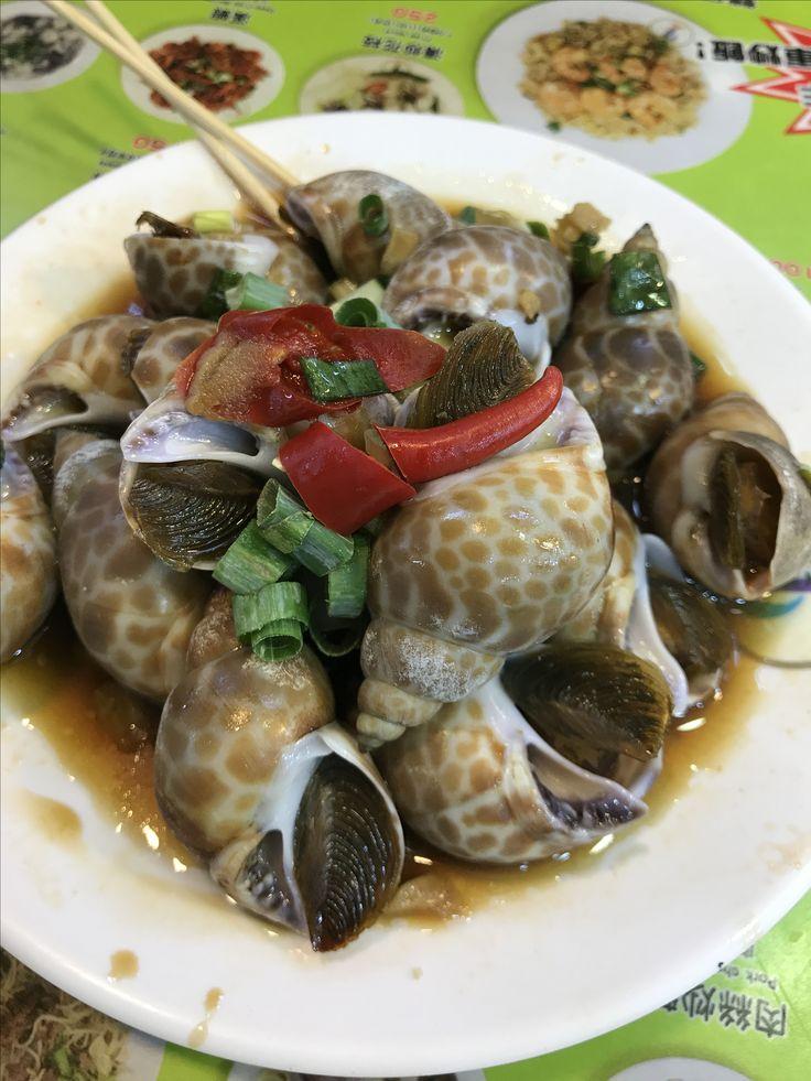 garlic escargot taipei shilin night market