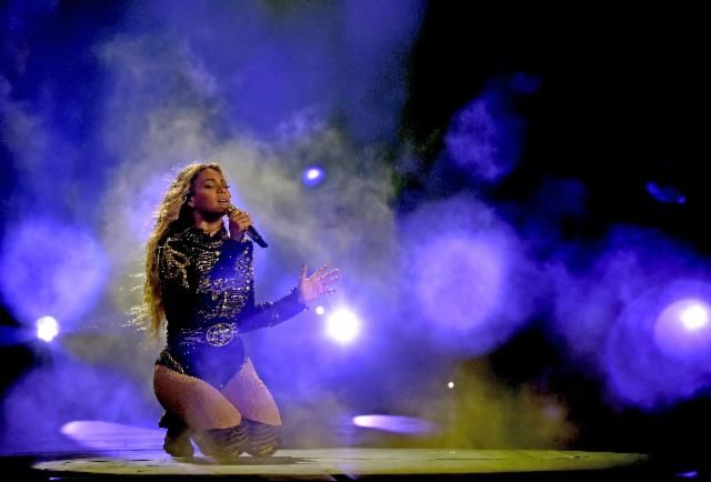 Queen Bey might be drinking some southern lemonade but she's doing it in style; Beyonce's number 34 on our #Celeb100 list.
