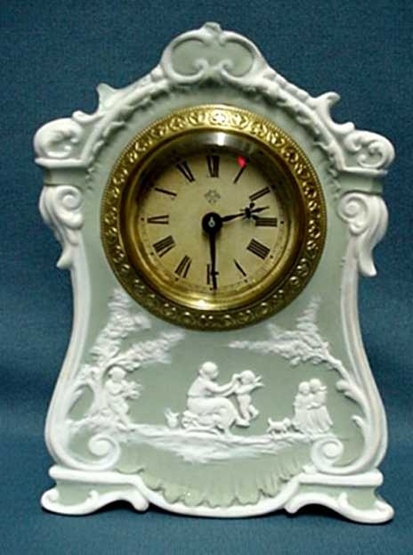 Wedgwood/Jasper Clock