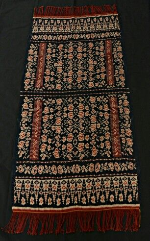 Shawl from Roti Island, Indonesia - Private Collection