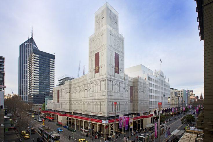 Diadem - Melbourne GPO / Innovative Wrap
