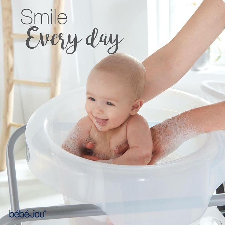 Smile everyday! Bebejou Baby Bath Bubble -  Μπανάκι Μωρού #babycare #babybath #bebejou #baby