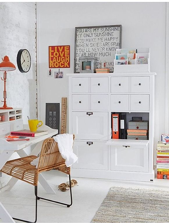 135 best Creative Home Offices images on Pinterest | Office spaces ...