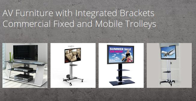 Buy Integrated TV Mount with a unique and contemporary design. Support  handy quick-release function with flexibility.Order it online  from Q-te