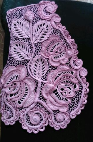 Irish crochet https://www.pinterest.com/etnam1/crochetfreeform/