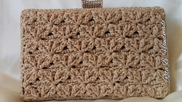 CLUTCH Tutorial passo passo - Crochet