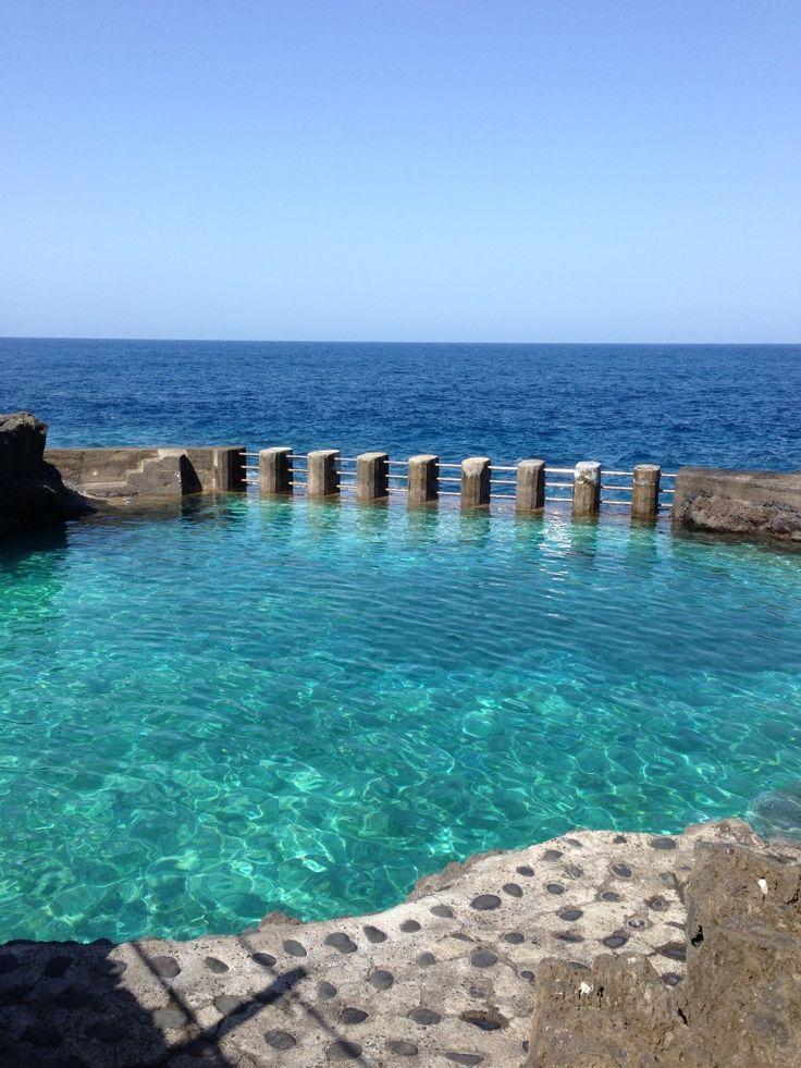 Mejores 225 im genes de mi isla encantadora en pinterest for Piscinas naturales isla de la palma