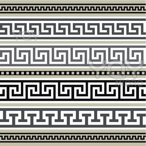 I love watermarks greek geometric pattern mythology is for Le greche decorazioni