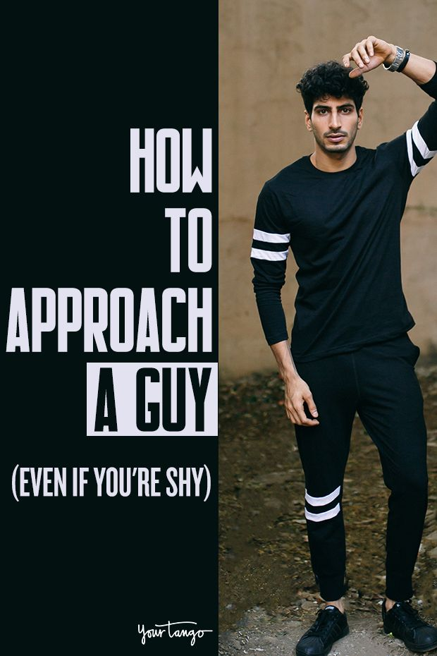 How to talk to a guy when your shy