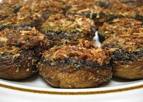 Cappelle di funghi al forno - La ricetta di Buonissimo