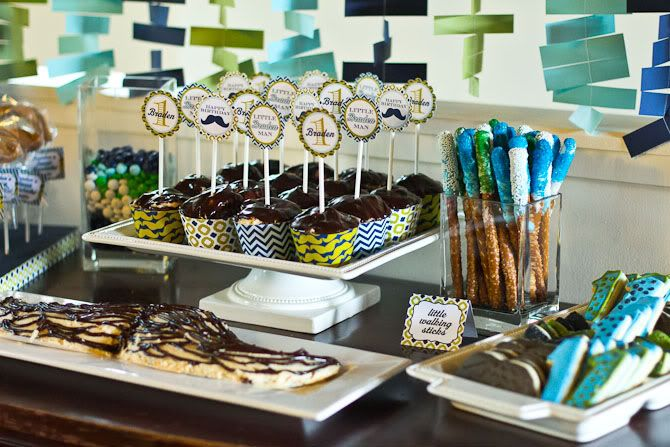 mustache party food | you missed it... here are the Mustache Bash Decorations and a party ...