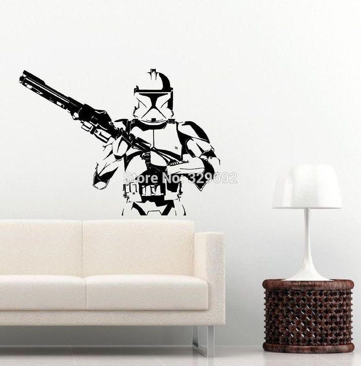 Wall Vinyl Art 32 best star wars images on pinterest | wall decals, wall vinyl