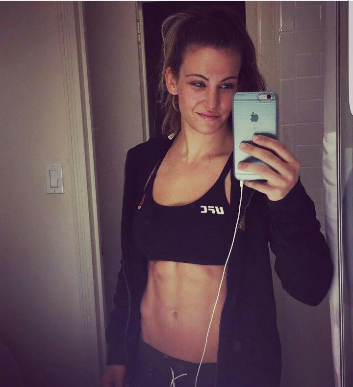 Miesha Tate looking amazing for UFC 205.