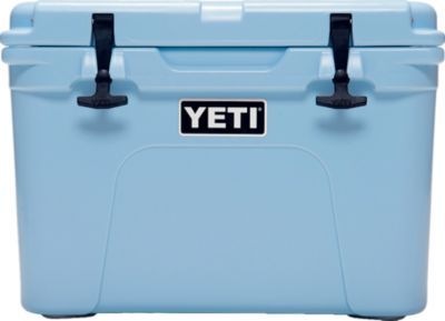 It's cold outside, so keep the cold inside of your cooler. Yeti coolers are durable, leakproof and has 2 inches of polyurethane foam insulation.
