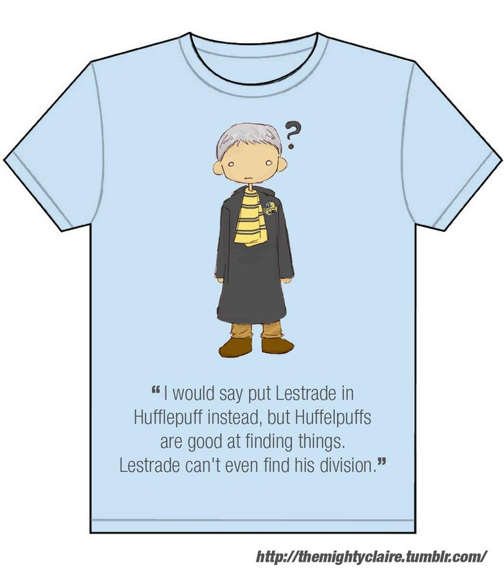Poor Lestrade.... #potterlock #sherlock