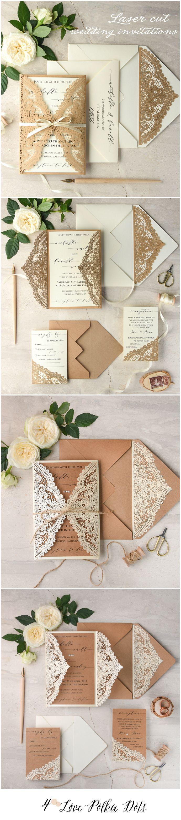 1093 Best Wedding Invitations Images On Pinterest Card Wedding