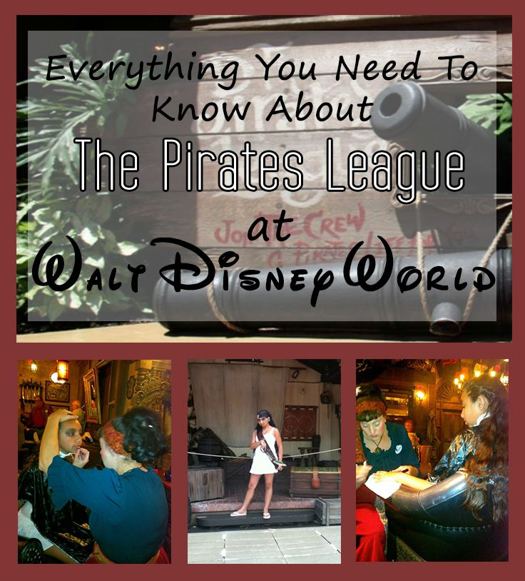 Want the chance to be a pirate? We have everything you need to know and more about the Pirates League at Walt Disney World!