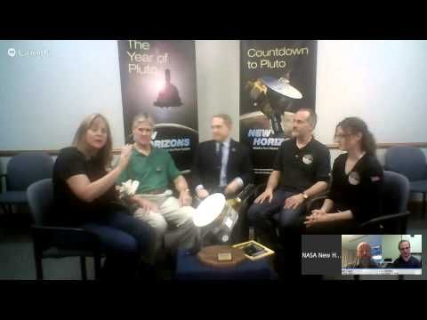 NASA's New Horizons Hangout: Countdown to Pluto! - YouTube