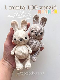 --- This cute little bunny is a fast project to make as a gift for easter or any time of the year.