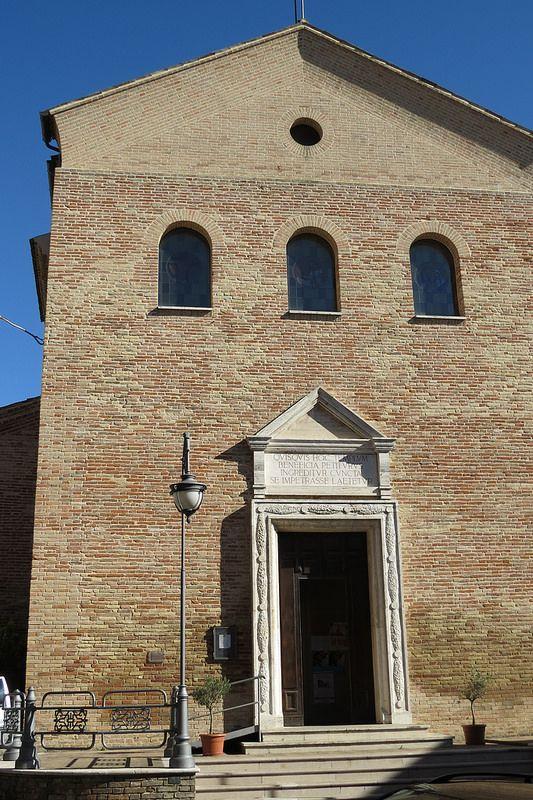 Offagna, Marche, Italy - Church of St. Tommaso by Gianni Del Bufalo