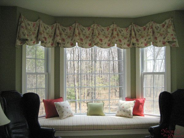 Fresh Bay Window Seat Treatments