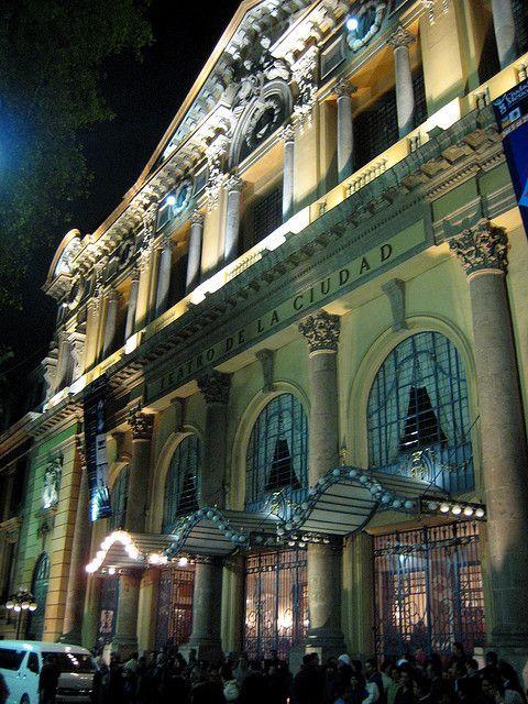 Teatro de la Ciudad at 36 Donceles Street, Mexico City, MEXICO.   (by A30_Tsitika, via Flickr)