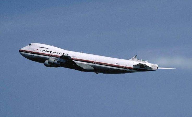 JAL-JAPAN AIR LINES - Boeing 747 do voo JAL 123