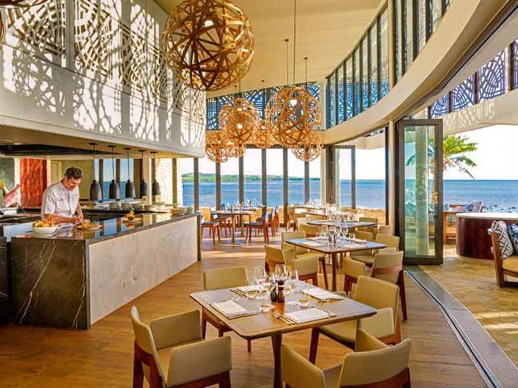 Luxury dining at Marriott Resort Momi Bay