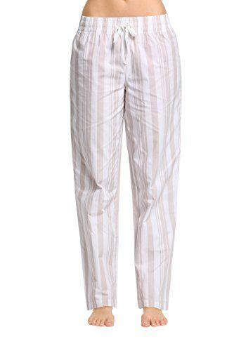 99722d65541 CYZ Women s 100% Cotton Woven Sleep Pajama Pants