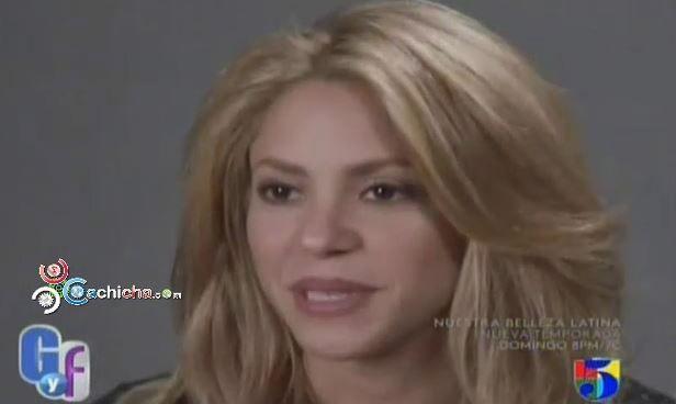 """Shakira: """"Contenta Y Feliz Con Su Colaboracion Con Rihanna"""" #Video"""