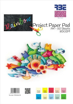RBE - PaperSmart Rainbow Project Paper Pad