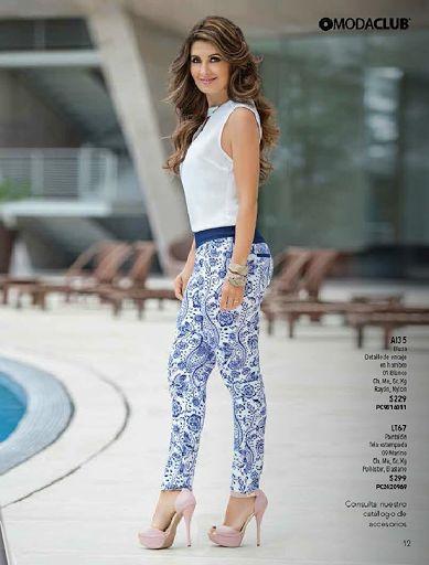 catalogo de ropa de moda primavera-verano 2014 modaclub ...