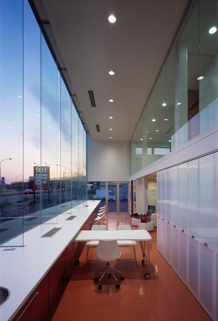 56 best east lansing auto repair shop images on pinterest auto daigo ishii of future scape architects has designed mederu auto repair shop a vehicular facility located in a suburb of nigata city japan solutioingenieria Gallery