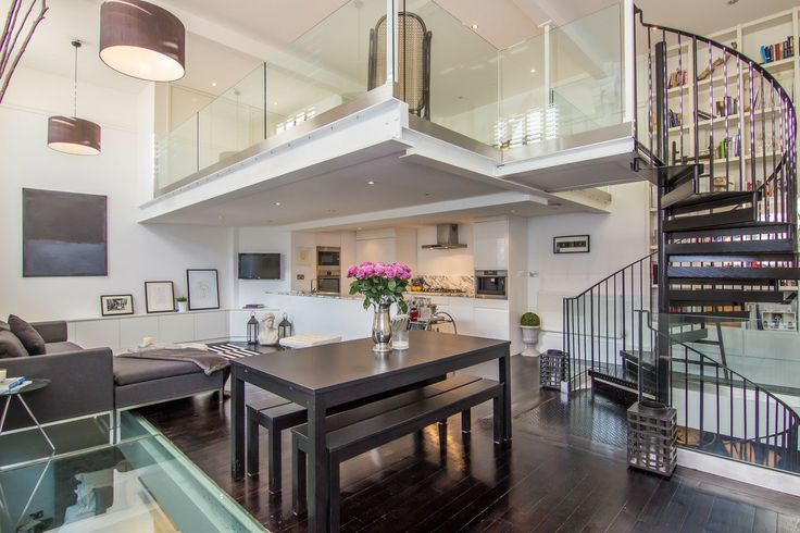 ein loft in london | lofts, interiors and house, Innenarchitektur ideen
