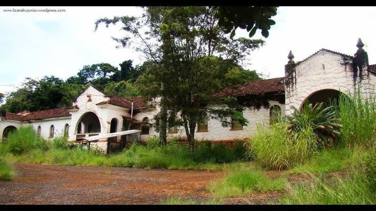 Antigo Hotel Serra Negra, Brasil