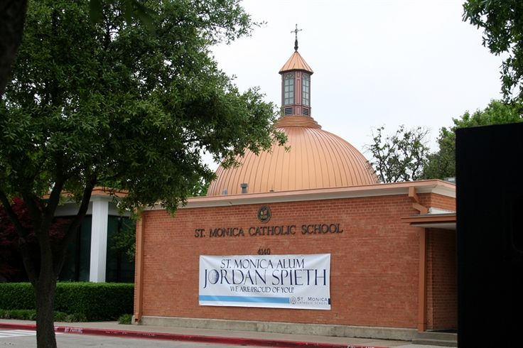 Jordan Spieth - St. Monica Catholic School Alumni - We are so proud of him!!  #classact, #SMSAlumni, Graduated in 2007 from 8th Grade to attend Jesuit Dallas
