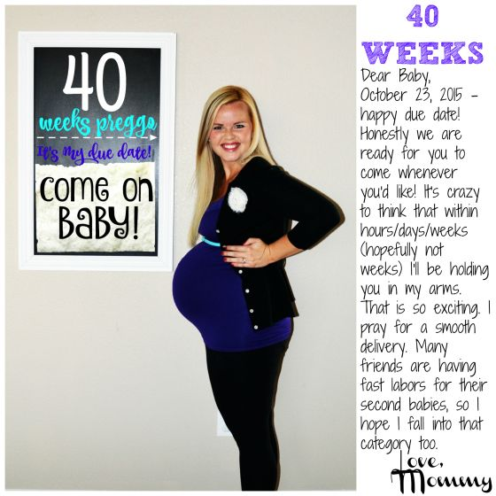 Weeks pregnant by due date in Brisbane