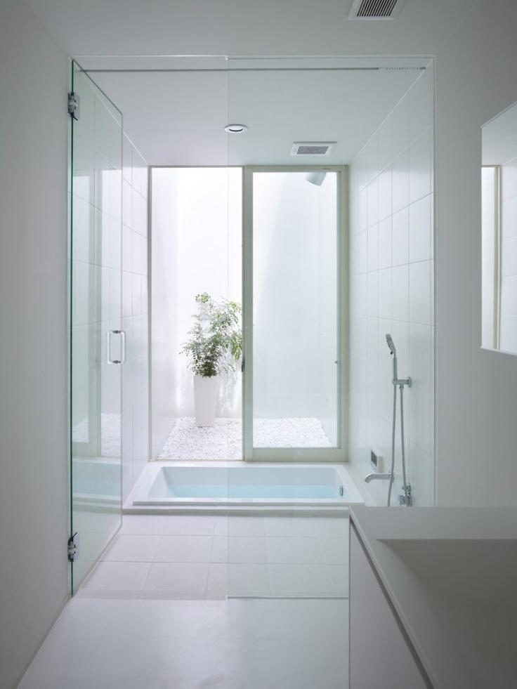Oshikamo A project by: Katsutoshi Sasaki + Associates Architecture.  I love Japanese bathrooms