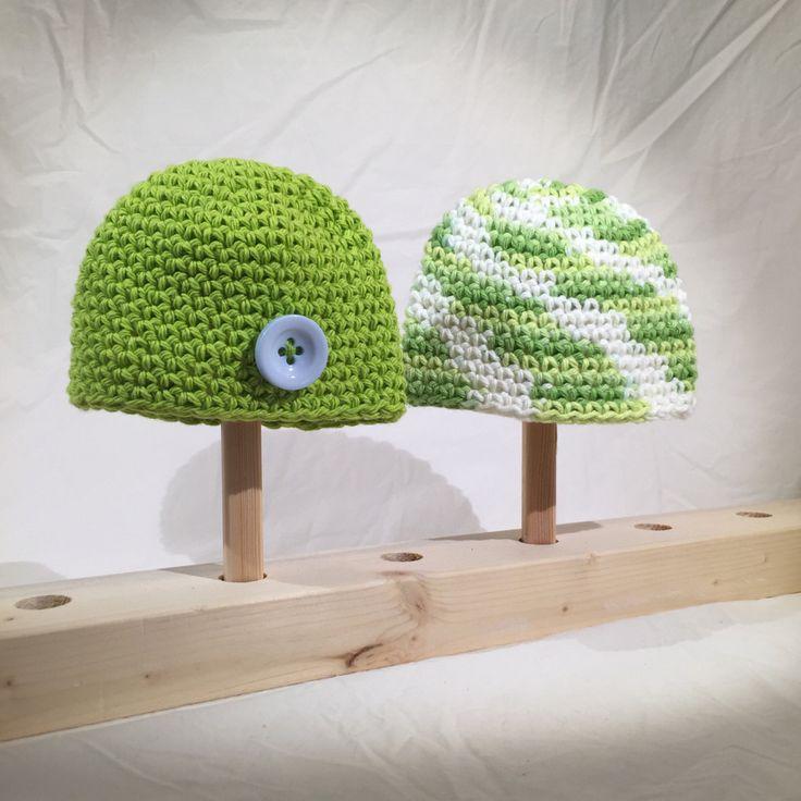 Preemie Beanie / Toque Set by EmmandSkootch on Etsy