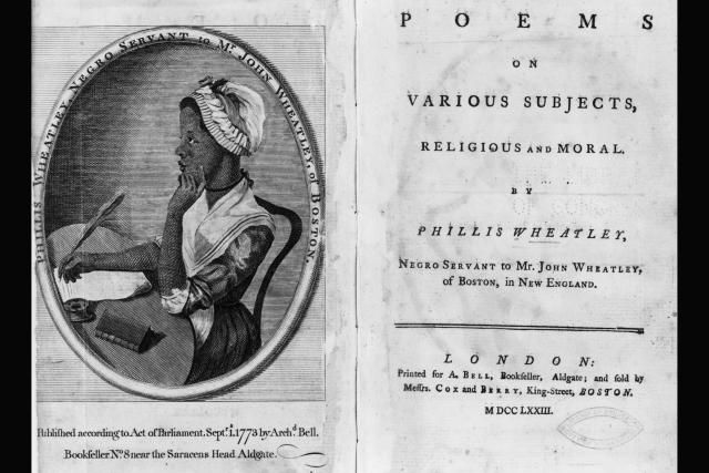 Reading the Works of Phillis Wheatley, Slave Poet of Colonial America