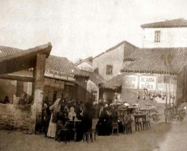 La Elipa eran unos terrenos pertenecientes al Pueblo de Vilcavaro y lo más cerca que había era lo que entonces se llamaba Ventas del Espíritu Santo. Año 1900.