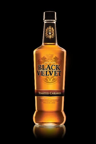 From the #2 Canadian Whiskey brand comes a sinful new flavor, Black Velvet Toasted Caramel.