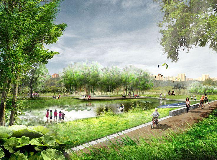 Mnevniki – Green benefits   OKRA Landschapsarchitecten